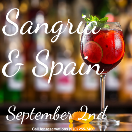 sangria and spain